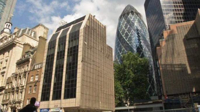 Лондонский небоскреб-«огурец» выставили на продажу