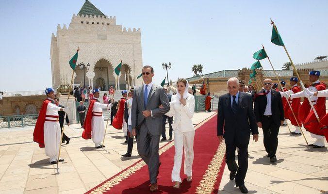 В Марокко прибыли  король Фелипе и королева  Летиция