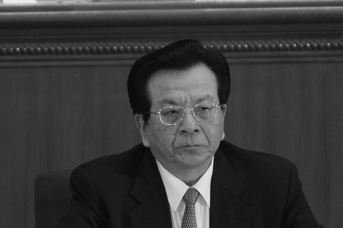 Цзэн Цинхун, бывший вице-председатель КНР, на четвёртом пленарном заседании Всекитайского собрания народных представителей в марте 2007 года в Пекине. Источник, близкий к антикоррупционной организации компартии, сказал, что Цзэн сейчас находится под арестом. Фото: Andrew Wong/Getty Images