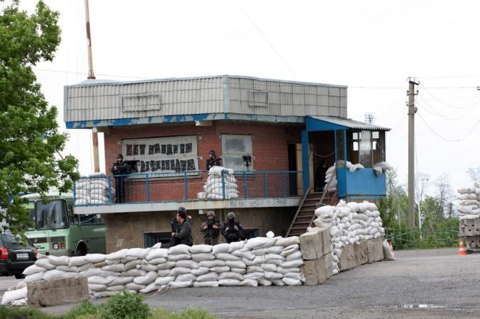 Украина, блок-пост