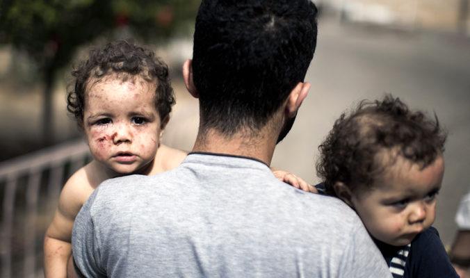 В Секторе Газа погибли 573 палестинца