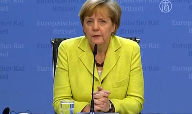 Ангела Меркель назвала меры ЕС относительно России правильными