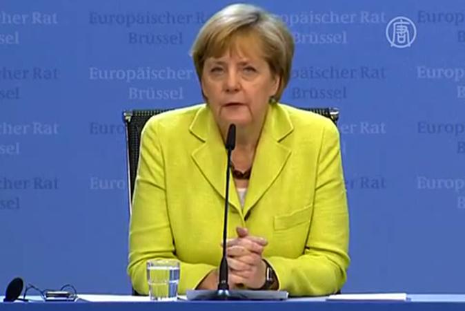 Ангела Меркель: Конечно, это углубление экономических санкций