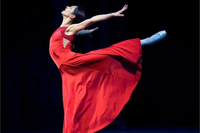 Оксана Кучерук, звезда знаменитой балетной труппы Бордо. Фото предоставлено пресс-службой Международного фестиваля балета DANCE OPEN