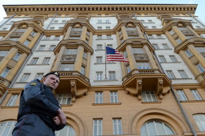 Посольство США В Москве. Фото: KIRILL KUDRYAVTSEV/AFP/GettyImages
