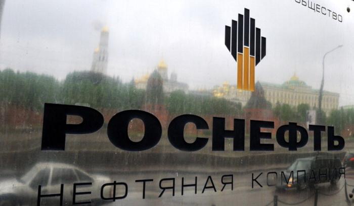 Росийская госкомпания Роснефть. Фото: DMITRY KOSTYUKOV/AFP/Getty Images