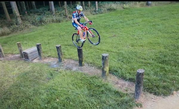 спорт, велосипедные трюки