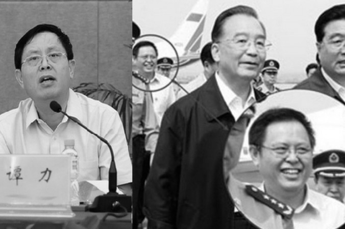 Тань Ли, вице-губернатор провинции Хайнань, оказался под следствием за «серьёзные нарушения закона», согласно заявлению антикоррупционного органа 8 июля. Фото: скриншот/hkwb.net и hk.apple.nextmedia.com