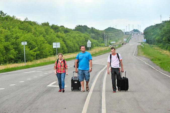 Новости Москвы, Подмосковье, беженцы с Украины