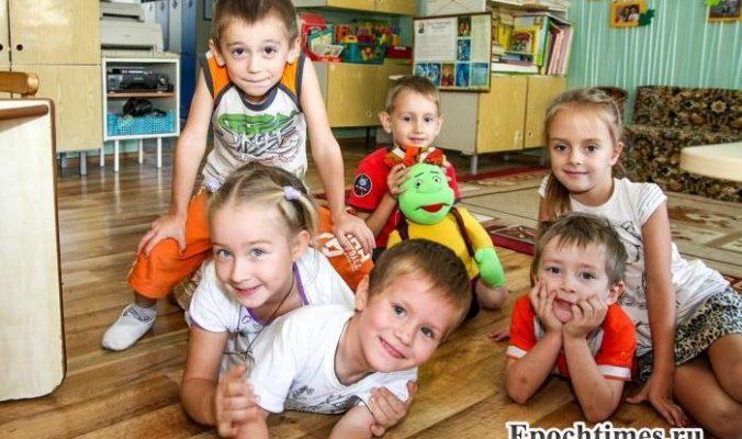 В Подмосковье детей беженцев устроят в детские сады