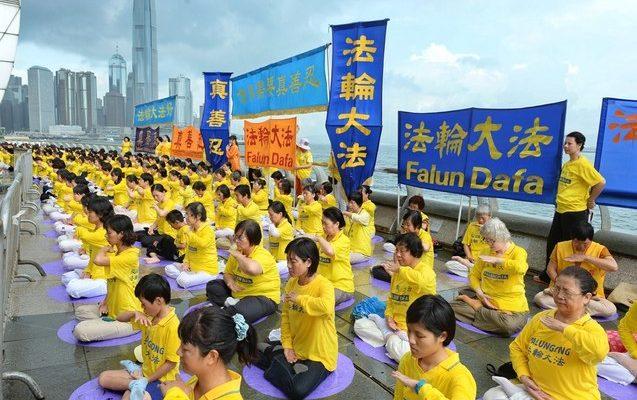 За месяц в Китае арестовали более 600 сторонников Фалуньгун