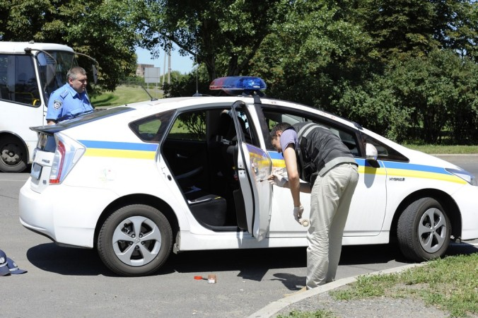 ДНР, Украина, ГАИ