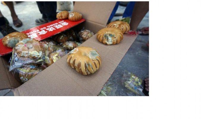 Жертвы тайфуна в Китае получили заплесневелый хлеб