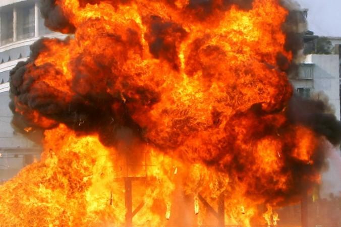 деревня Лаврово, пожар, взрыв