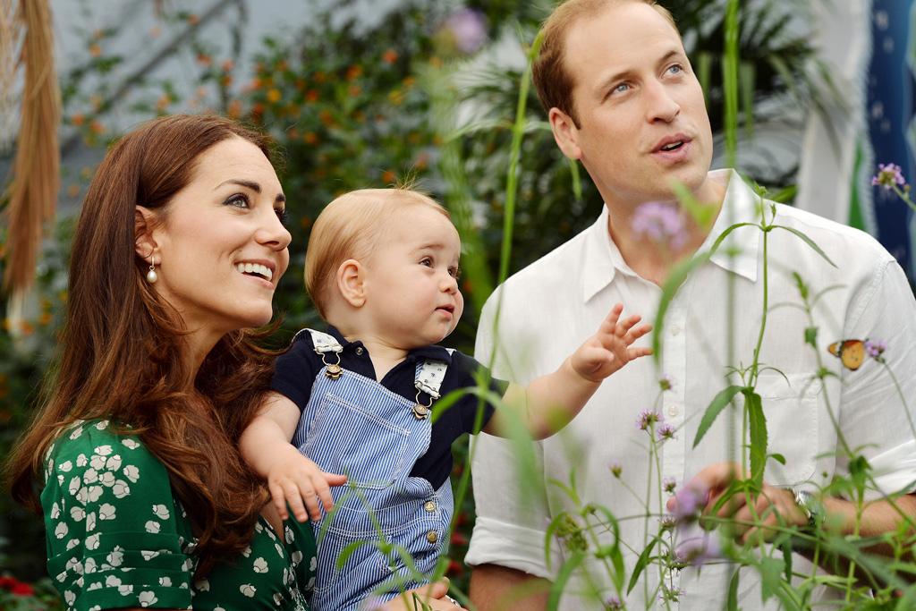 принц Джордж, принц Георг, герцоги Кембриджские, принц Уильям, герцогиня Кембриджская, фото дня, фото