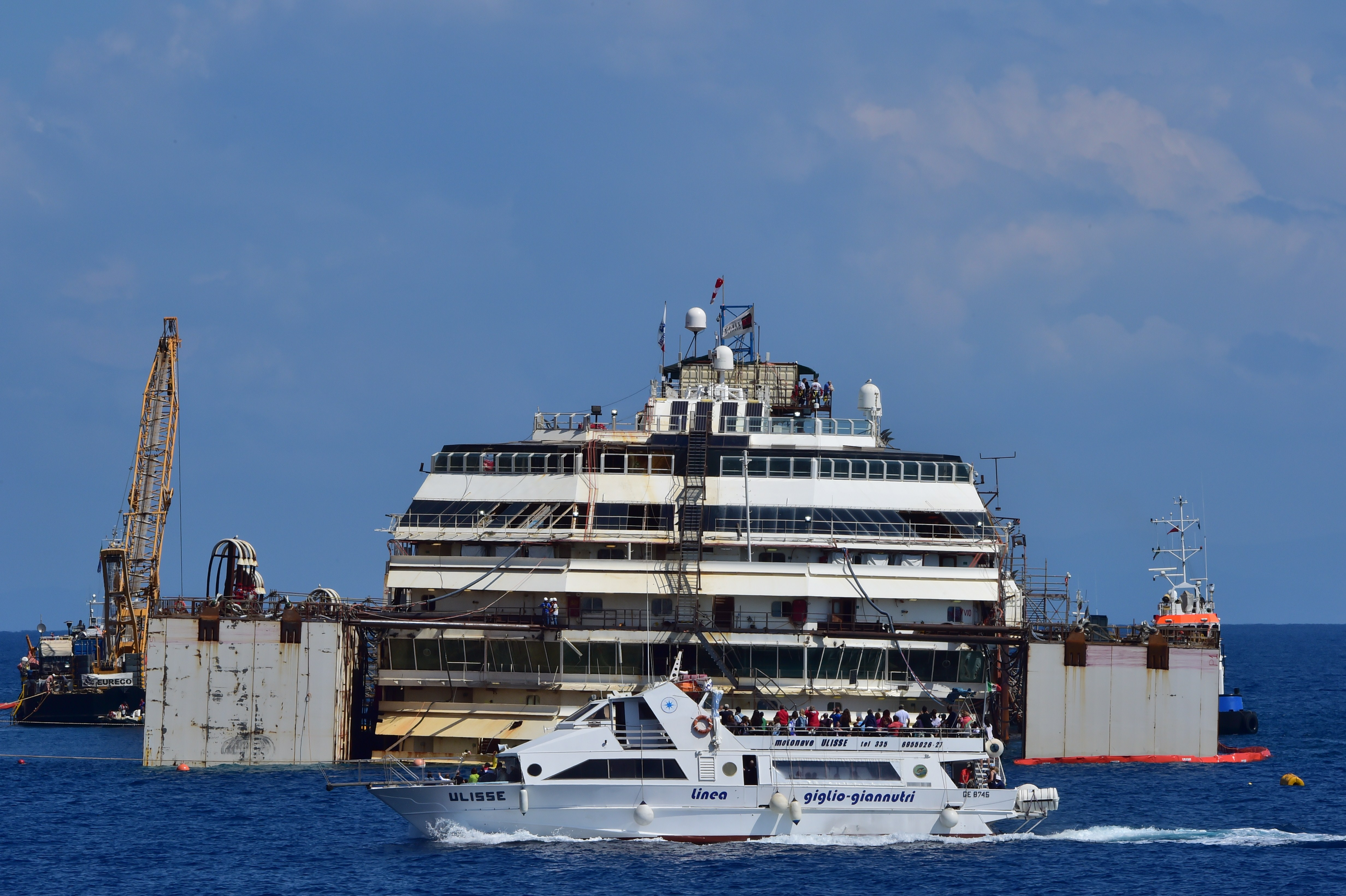 Коста Конкордиа, крушение, судно