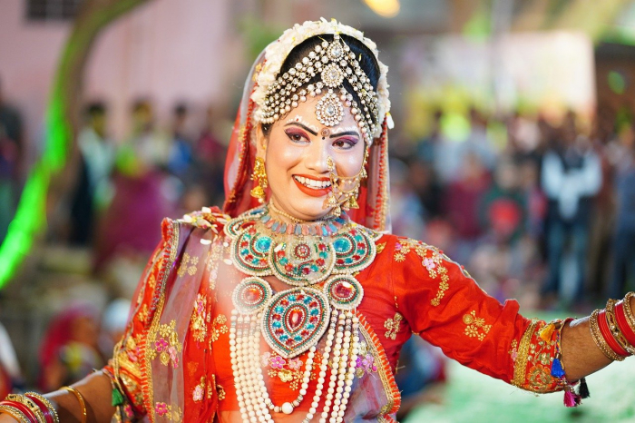 Праздник Тидж отмечают в Индии