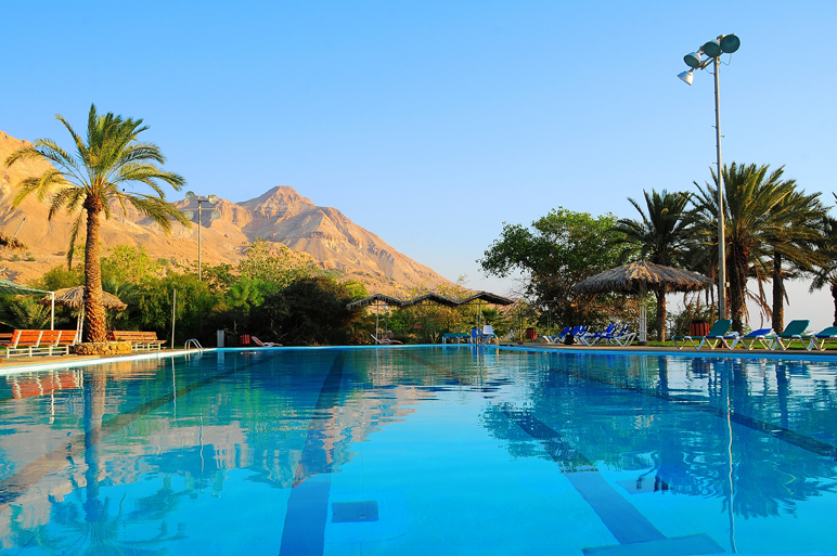 Вид на бассейн в Эйн-Геди. Фото: P.R Merav Aylon