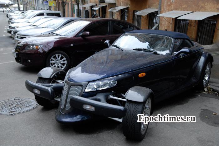 Москва, парковка