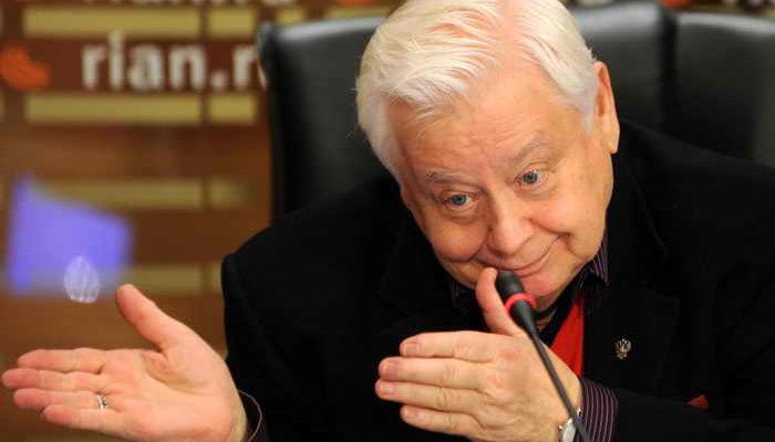 Олег Табаков отпраздновал день рождения
