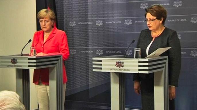 Меркель пообещала балтийским странам защиту НАТО в случае угрозы со стороны России