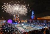 Москва, фестиваль, Спасская башня, шоу