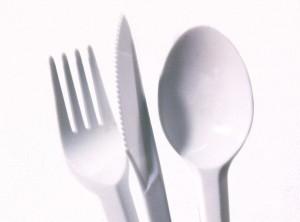 Cutlery, Plastic Knife Spoon Fork