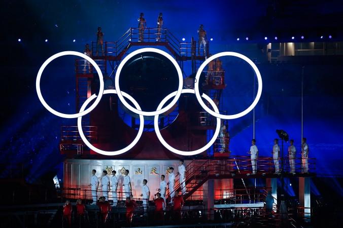 Церемония открытия летних юношеских Олимпийских игр в Нанкине, 16 августа 2014 года, Китай. Организатор игр был арестован за коррупцию. Фото: Lintao Zhang/Getty Images