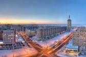 Утро в Архангельске. Фото с сайта http://wearesearchworld.ru/category/russia/arxangelsk/