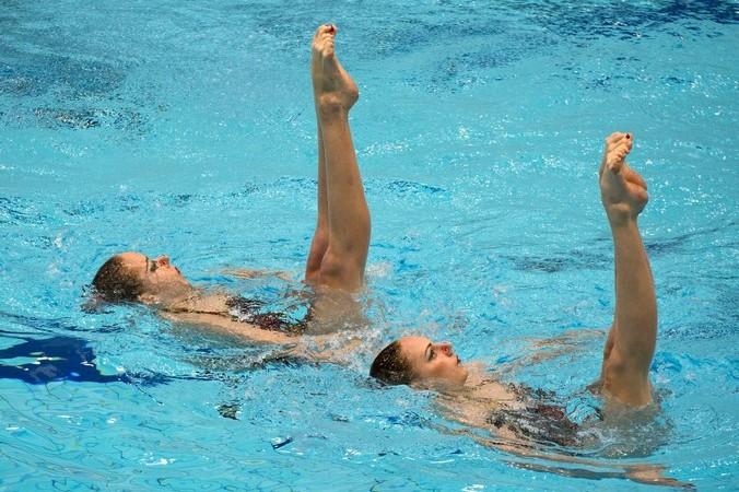 Плавание, ЧЕ, заплыв