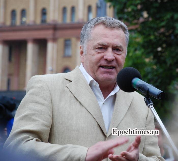 Жириновский, сборы, Минобороны