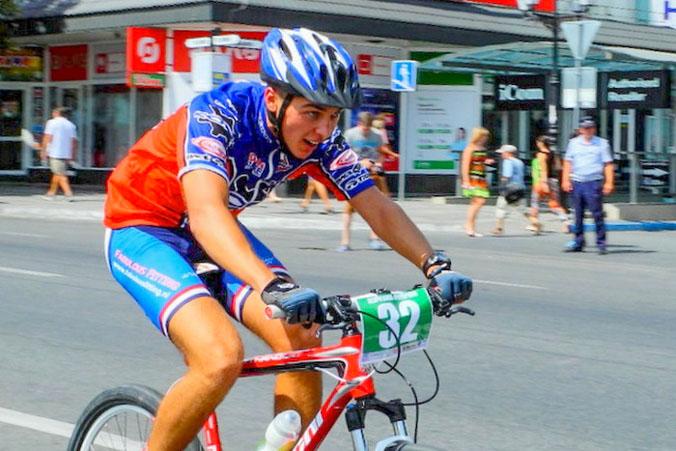День физкультурника в Симферополе. Велогонка. Фото: Алла Лавриненко/Великая Эпоха