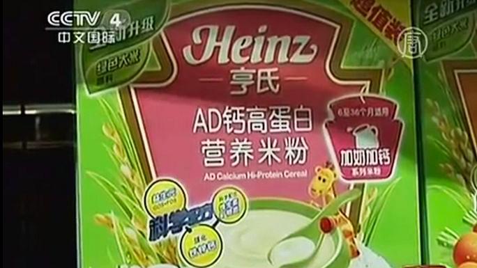 Детские каши Heinz в Китае зашкалили по уровню свинца