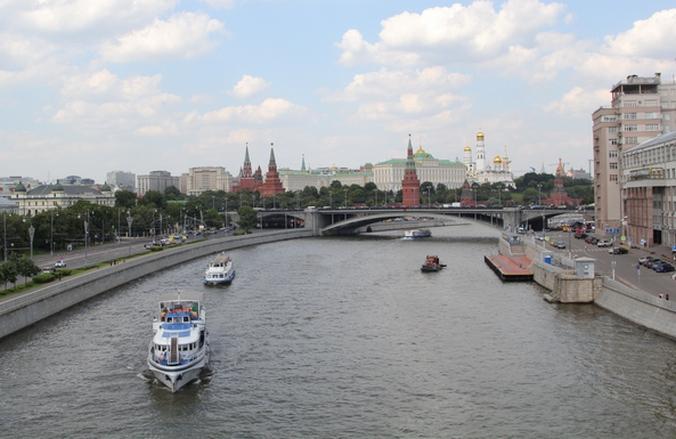 Новости Москвы, Москва-река, сумка с женской головой