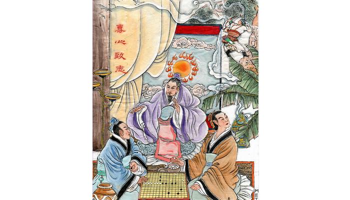 Китайские идиомы: полностью сосредоточиться и отдаться всем сердцем