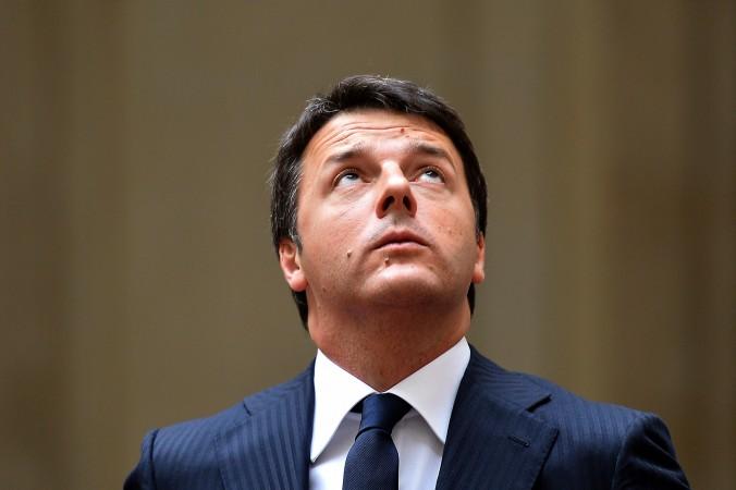 Премьер-министр Италии МаттеоРенци 29 июля, 2014 года. Фото: Alberto Pizzoli/AFP/Getty Images