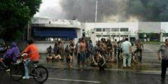 От взрыва на фабрике Китая погибли 65 человек