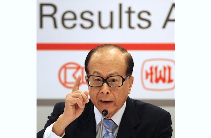 Ли Ка-Шин, глава Cheung Kong Holdings Ltd, на пресс-конференции в Гонконге, 29 марта 2012 года. Фото: Antony Dickson/AFP/Getty Images