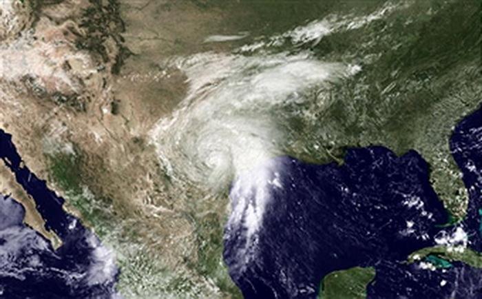 Мексиканский залив. Вид из космоса. Фото: NOAA via Getty Images