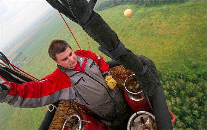 Мастер спорта по воздухоплаванию Николай Галкин. Фото предоставлено организаторами фестиваля воздухоплавания «Небо России-2014»