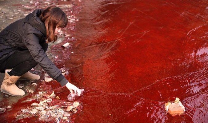 Экологическая катастрофа в Китае
