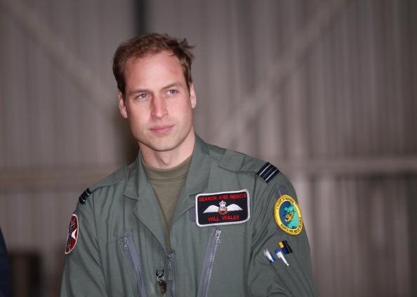 Принц Уильям - пилот поисково-спасательного вертолёта ВВС Великобритании. Christopher Furlong - WPA Pool/Getty Images