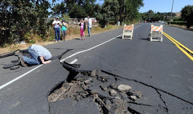 Ущерб от землетрясения в Калифорнии может составить $1млрд