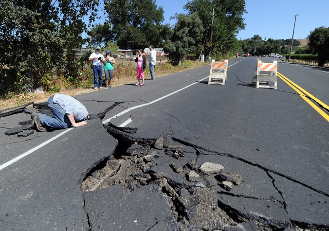 Землетрясение, Калифорния