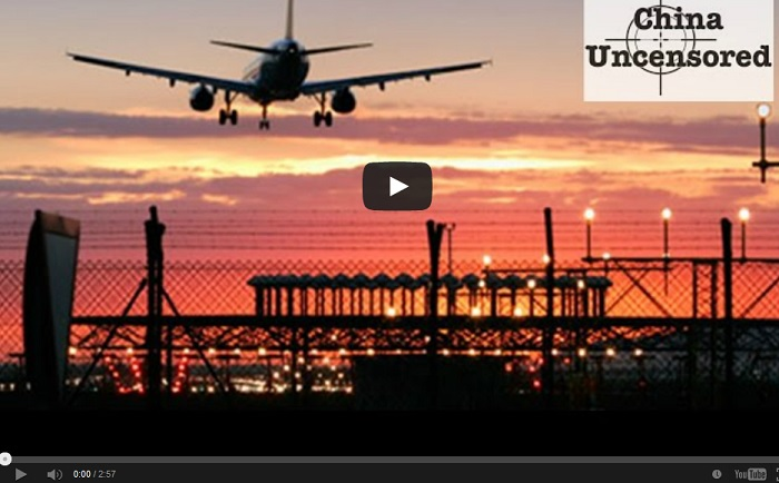 Кто-то таинственный занял воздушное пространство над Китаем. Фото: скриншот/theepochtimes.com