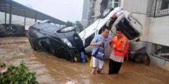 На юго-запад Китая обрушились самые сильные за 40 лет ливни