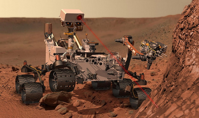 Марсоход Curiosity. Фото: NASA Goddard Space/flickr.com