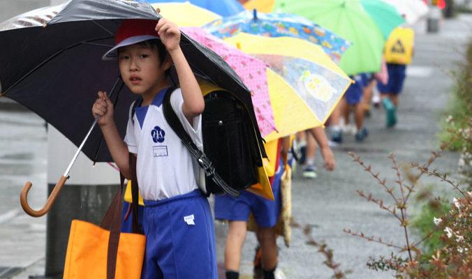 Тайфун «Накри» привёл к первым жертвам в Японии