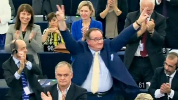 Парламенты Украины и Евросоюза ратифицировали соглашение об ассоциации. Скриншот видео.