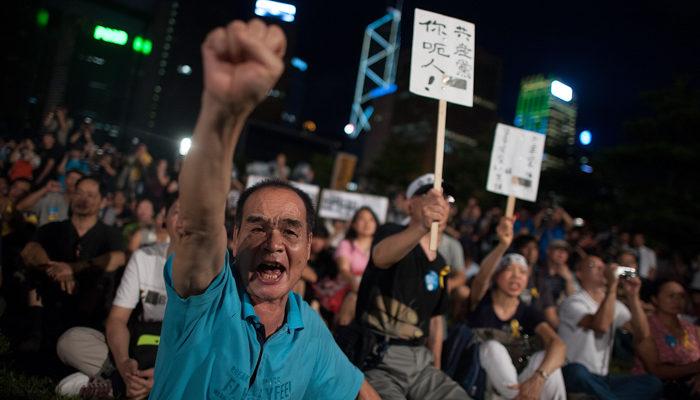 В Гонконге начались массовые протесты против ограничений на выборах